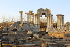 China Beijing Yuanmingyuan Ruins-Old Summer Palace Stock Image