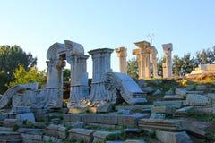 China Beijing Yuanmingyuan Ruins-Old Summer Palace Royalty Free Stock Photo