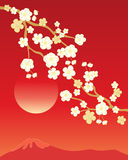 China blossom background Royalty Free Stock Photography