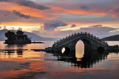 China Bridge Royalty Free Stock Photography