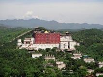 China-buddhistischer Tempel Lizenzfreies Stockbild