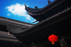 China building. Ancient architecture in Guangdong Province, China Royalty Free Stock Photos