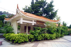 China building. This is the shenzhen xixiang park antique buildings Royalty Free Stock Photos
