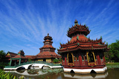 China building. Royalty Free Stock Images