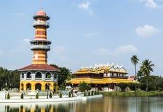 China buildings. In Bang Pa-In Royal Palace, Ayuthaya, Thailand Royalty Free Stock Photo
