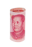 China Business yuan. Royalty Free Stock Photos