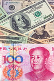 China Business yuan Royalty Free Stock Photography