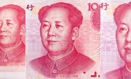 China Business yuan. Stock Photos