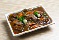 China Caichao beef. Delicious food Stock Photography