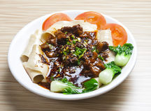 China Caichao beef. Delicious food Stock Photos