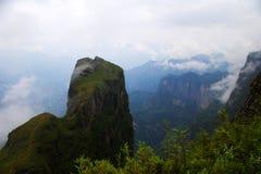 China canyon scenery Stock Image