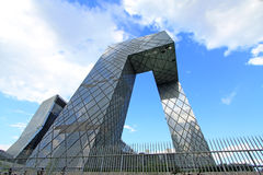 China CCTV office building in Beijing Royalty Free Stock Photography