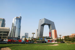 China CCTV's new site royalty free stock photo