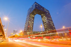 China Central Television (CCTV) Headquarters in BEIJING Stock Photo