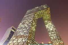 China Central Television (CCTV) Headquarters,in Beijing Stock Image