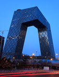 China Central Television Headquarters, Beijing. Royalty Free Stock Photography