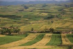 China Changji Mori County, Pingdingshan Million MU Ackerland Stockfoto