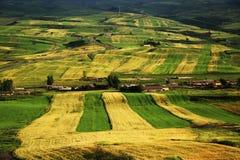China Changji Mori County, Pingdingshan Million MU Ackerland Lizenzfreies Stockbild