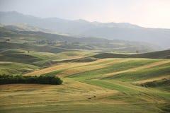 China Changji Mori County, Pingdingshan Million MU Ackerland Stockbild
