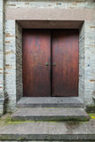 China Chengdu width of the alley traditional Chinese wooden doors Royalty Free Stock Photography