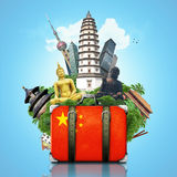 China, China landmarks Royalty Free Stock Images