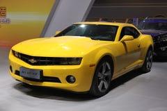 China Chongqing Auto Expo. Car,auto,bumblebee,Chevrole Royalty Free Stock Photography