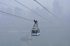 China Chongqing Cableway Stock Image
