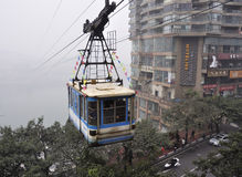 China Chongqing Cableway Royalty Free Stock Images