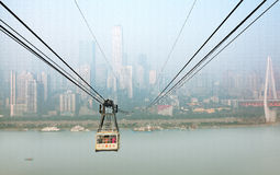 China Chongqing Cableway Stock Images