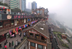 China Chongqing City,Chinese New Year Royalty Free Stock Images