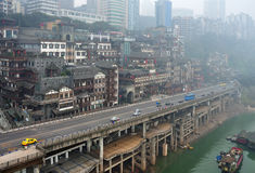 China Chongqing City,Chinese New Year Royalty Free Stock Images
