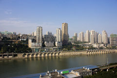 China Chongqing City Scenery Royalty Free Stock Photography