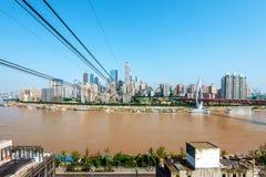 China Chongqing Urban Landscape Fotos de Stock Royalty Free