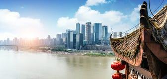 China Chongqing Urban Landscape Imágenes de archivo libres de regalías