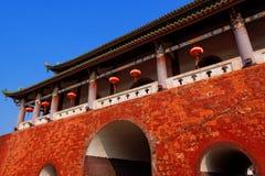 China city gate Royalty Free Stock Photos