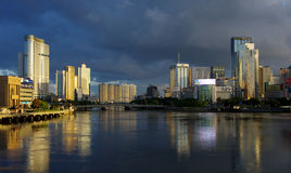 China city of Ningbo Stock Photography