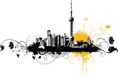 China City~Shanghai Stock Photography