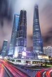 China city of Shanghai Stock Photography