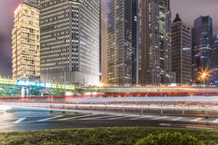 China city of Shanghai Royalty Free Stock Photography