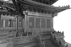 China Classical architecture Royalty Free Stock Photo