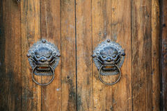 China classical door Royalty Free Stock Image