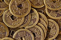 China coins Stock Photo