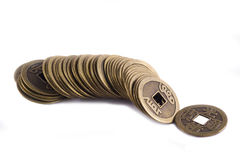 China coins Royalty Free Stock Photo