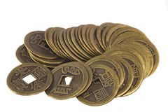 China coins Stock Image
