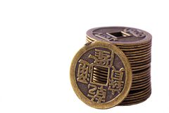 China coins Royalty Free Stock Photography