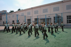 China college students military training 9 Stock Photography