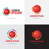 China company logo Stock Photos