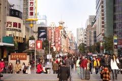 CHINA: compra em Shanghai imagens de stock royalty free