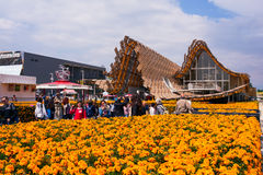 China Corporate United Pavilion at Expo 2015, Milan Royalty Free Stock Images