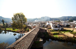 China Country Town. In Wu Yuan stock images